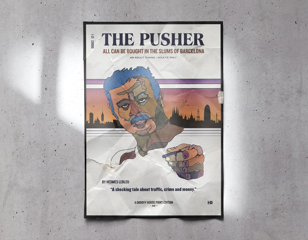 THE PUSHER – Print