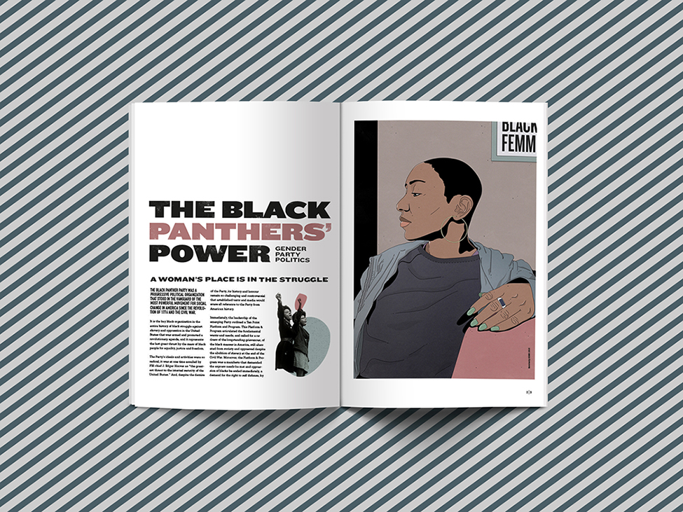 BLACK PANTHER – Editorial